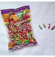 1000 grams twist candy with fruit flavors