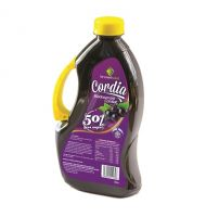 Cordia Blackcurrant Cordial (50% less sugar)  - 1 litre