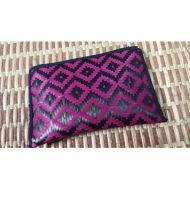 "Lumis Original Bamboo Wallet 4"" x 6\"" (Black + Pink)"