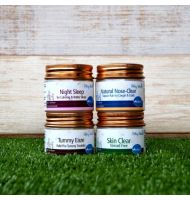 4-in-1 Natural Salves (Above 2 Years Old)