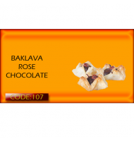 BAKLAVA ROSE CHOCOLATE