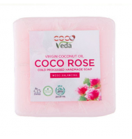 VCO - COLD PROCESSED SOAPS - ROSE PETAL