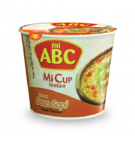ABC Mi Cup - Beef Meatball Flavour