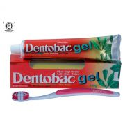 Dentobac Gel Herbal/Ayurvedic Green Gel Toothpaste